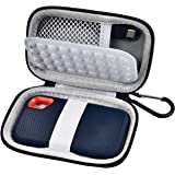 Hard Case Compatible with SanDisk 500GB/ 250GB/ 1TB/ 2TB Extreme Portable SSD - SDSSDE60-500G-G25, Not for Sandisk Pro…