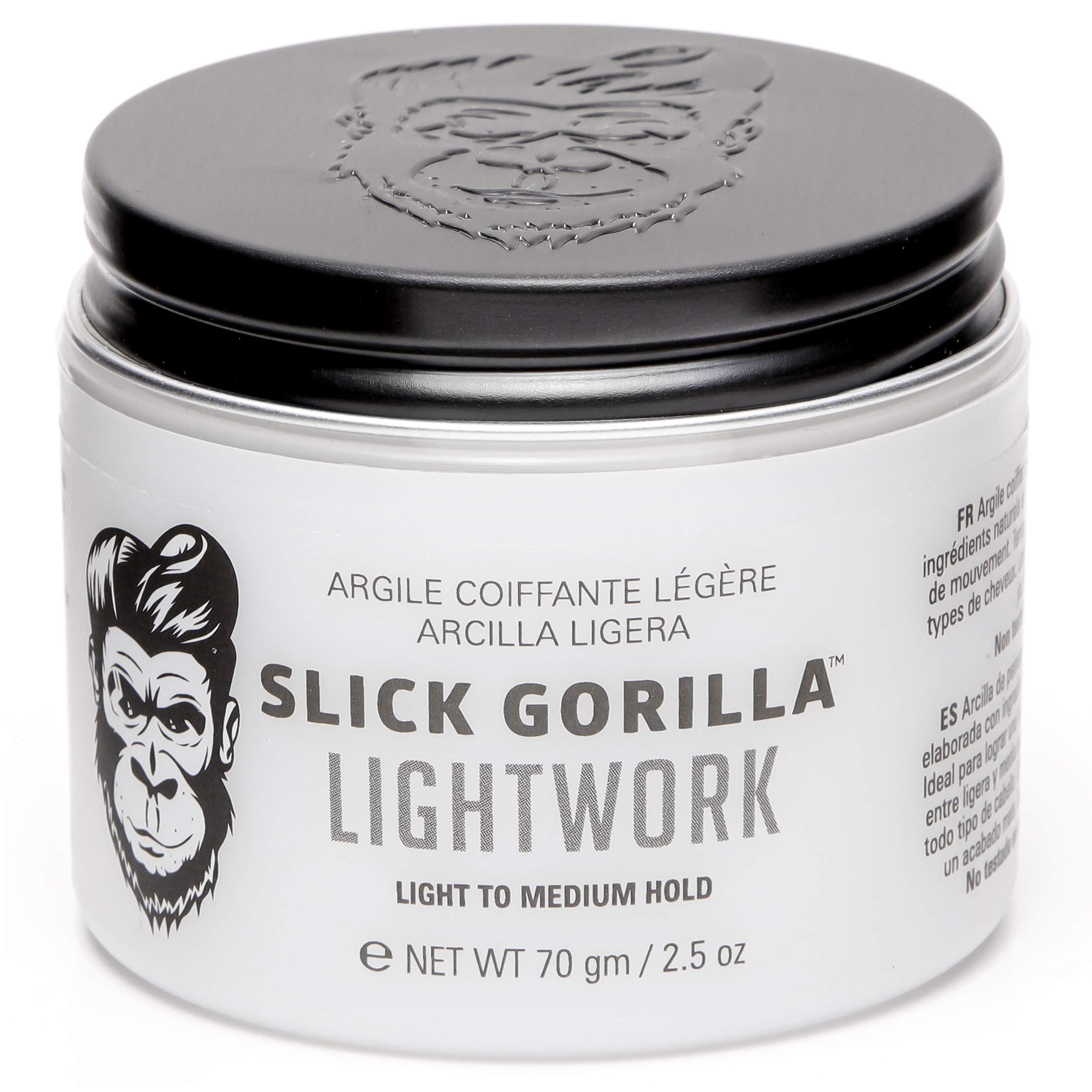 Slick Gorilla Lightwork Hair Styling Clay 70g