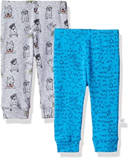 Rosie Pope Boys Infant Baby Newborn 2 Pack Pants