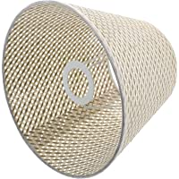 FRCOLOR Barrel Lampshade Rattan Pendant Light Fixtures Lampshade E27 Hanging Lighting Lamp Shade for Dining Room Kitchen…
