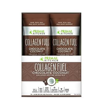 Amazon primal kitchen collagen fuel protein on the go packets primal kitchen collagen fuel protein on the go packets chocolate coconut 12 count malvernweather Choice Image