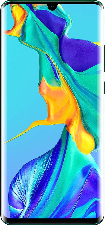 Huawei P30 Pro Dual/Hybrid-SIM 128GB VOG-L29 (GSM Only, No CDMA) Factory Unlocked 4G/LTE Smartphone - International Version (Aurora Blue)