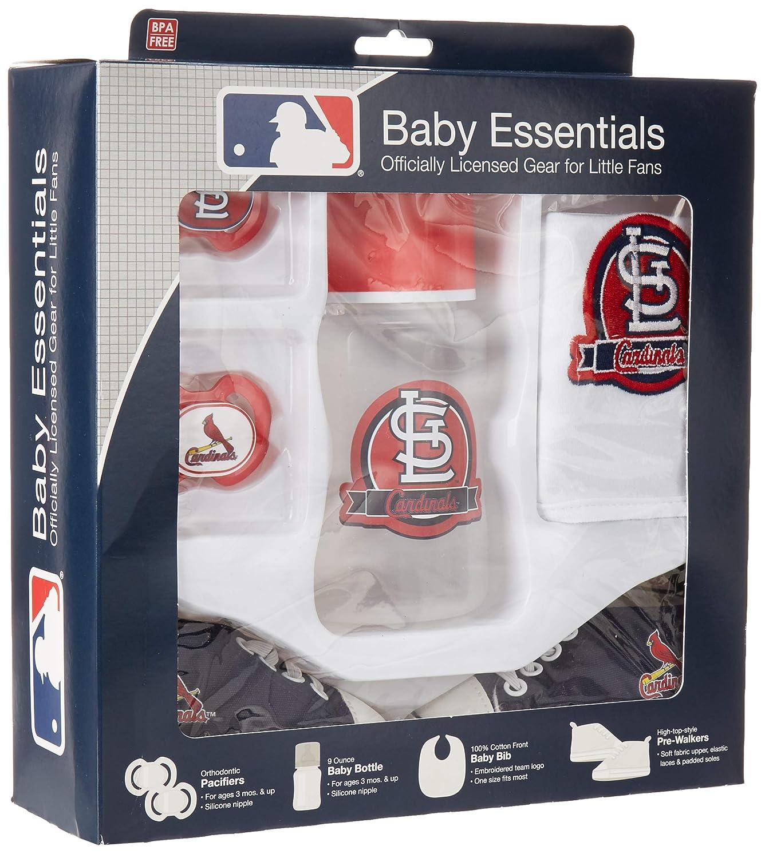MLBセントルイスカージナルス5-pieceベビーギフトセット   B077QPKQ6S