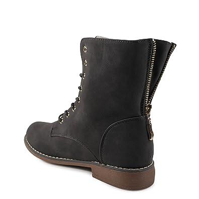 sports shoes 037f7 cb225 Damen Stiefeletten gefüttert Boots Worker Schnürboots ...