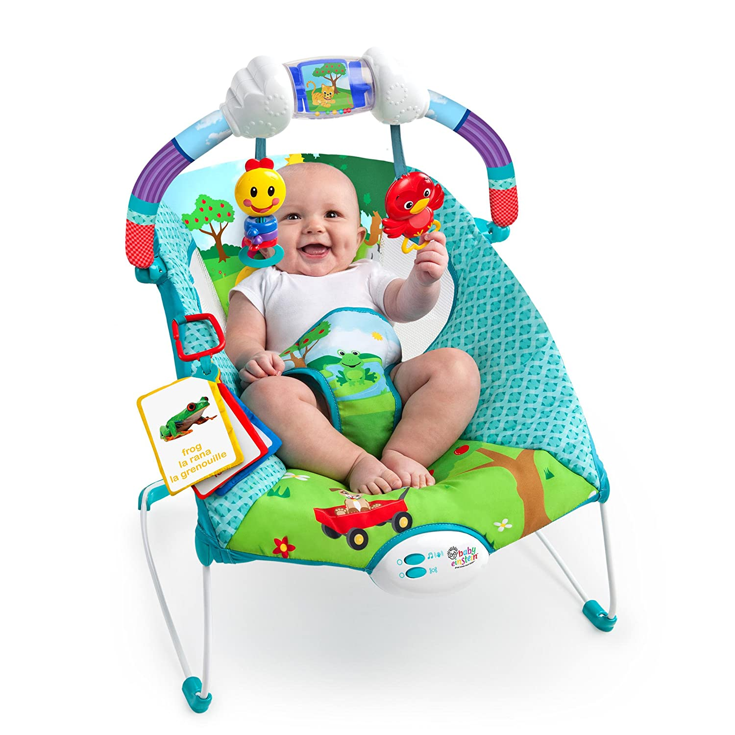 Amazon Baby Einstein Caterpillar s Day at the Park Bouncer