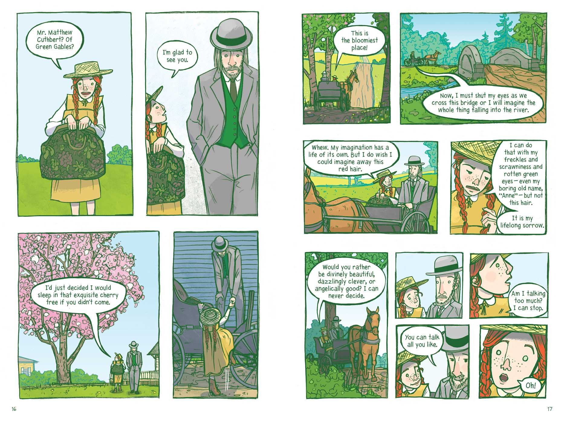 Image result for anne of green gables graphic novel