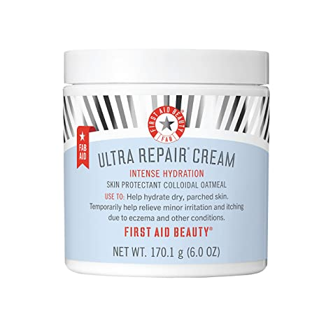 Amazon.com : First Aid Beauty Ultra Repair Cream Intense Hydration Moisturizer for Face and Body - 6 oz. : Body Skin Care Products : Beauty