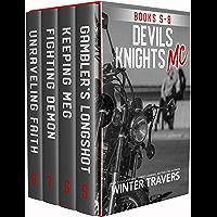 Devil's Knights MC: Books 5-8 (English Edition)