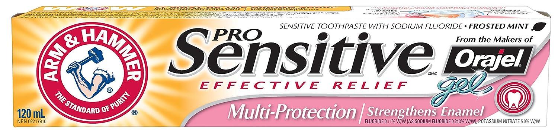 ARM & HAMMER Sensitive Enamel Strengthening Toothpaste, 120-ml