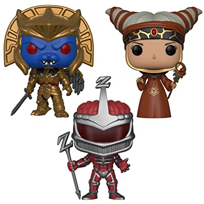 Funko 266 TV: Power Rangers Series 7 Villians Collectors Rita Repulsa, Goldar, Lord Zedd, Set: Toys & Games