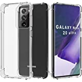 Migeec Compatible with Samsung Galaxy Note 20 Ultra 5g Case - Clear Soft TPU Bumper [Shock-Absorbing] Full Protection…