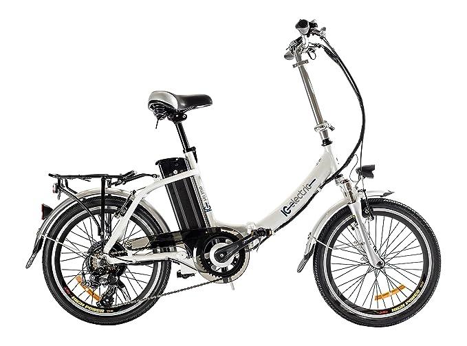 IC Electric Plume Bicicleta Plegable, Unisex Adulto, Naranja, Única: Amazon.es: Deportes y aire libre