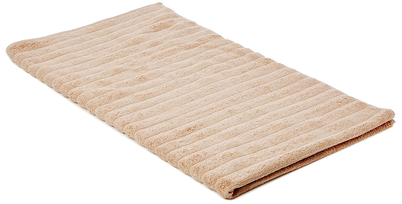 Bianca algodón Suave Acanalado Super–Toalla de baño, Color Crema, algodón, Blanco, Super Bath Sheet Turner Bianca TW/39041/R/SBS/WH