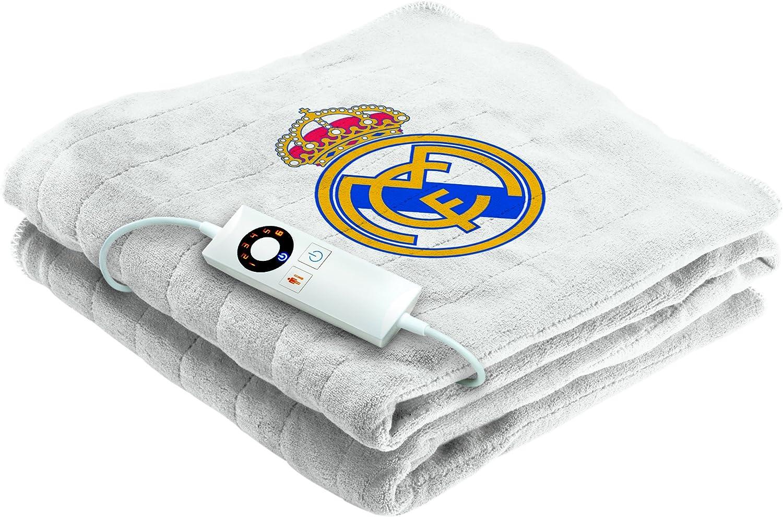 Imetec Real Madrid - Manta eléctrica para sofá, 120 x 160 cm ...