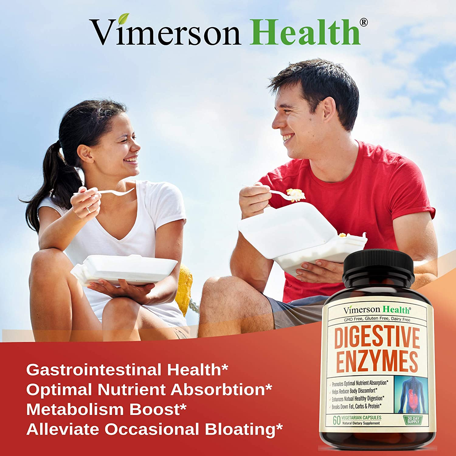 Digestive Enzymes with Probiotics. Advanced Natural Multi Enzyme Supplement for Better Digestion and Nutrient Absorption. Helps Promote Regularity, ...