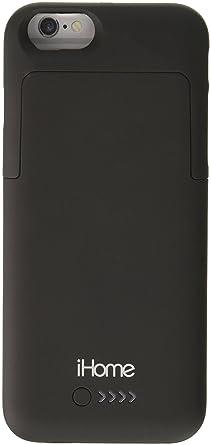Amazon.com: iHome | 2400 mAh batería carcasa para iPhone 6 ...