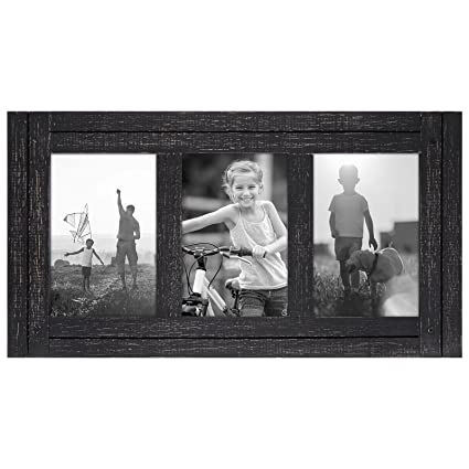 Amazon.com - Americanflat 4x6 Charcoal Black Collage Distressed Wood ...