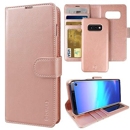 Amazon.com: ZUSLAB - Funda de piel para Samsung Galaxy S10e ...