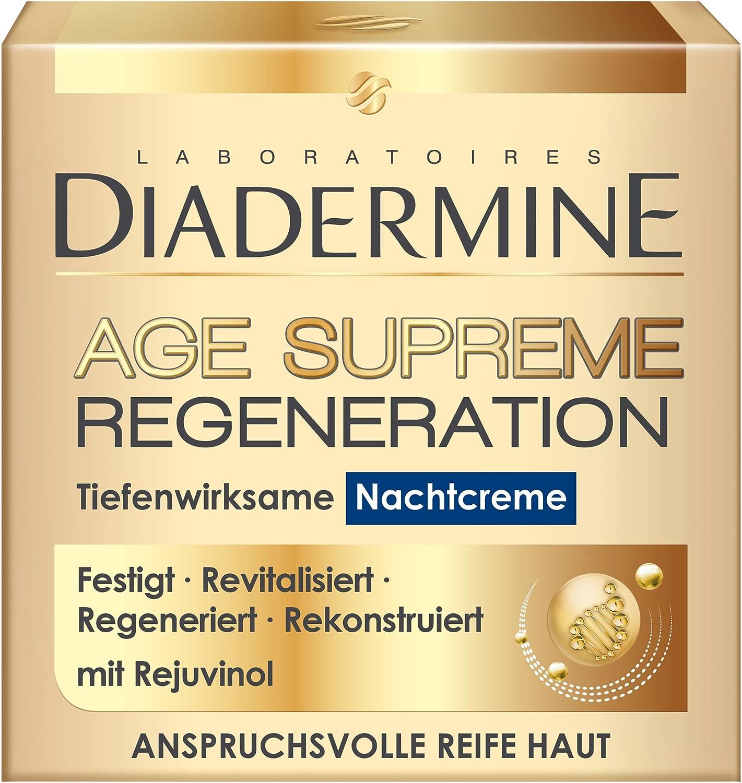 Schwarzkopf Diadermine Age Supreme Regeneration Tiefenwirksam Nachtcreme, 1er Pack (1 x 50 ml) DSRNA