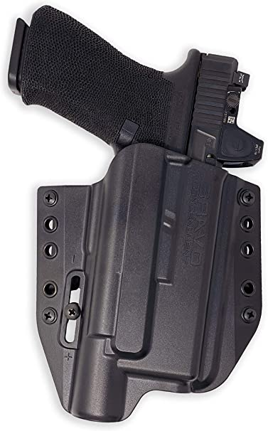 Light Bearing Kydex OWB Holster Fits Glock 17//22 w// TLR1 Light Colors Available