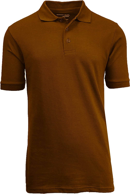 WUAI Mens Casual Polo Shirts Short Sleeve Fashion Slim Fit Printed Tops