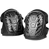 Heavy Duty Professional Gel Knee Pads | Comfortable Strong Foam & Gel Padding Joint Protection | Secure, Adjustable Straps with Easy-fix Clips | M&W