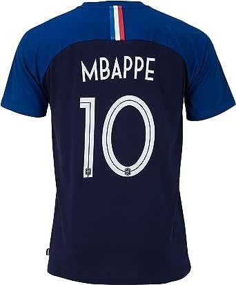 Camiseta oficial de la selección francesa de fútbol de Paul Pogba, talla para niño