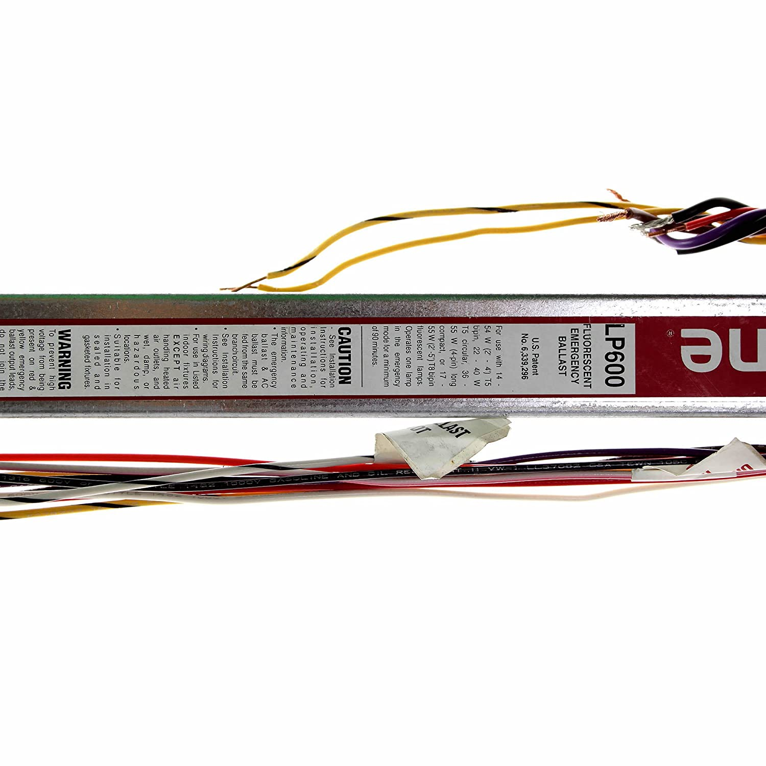 81fQp2Nnd8L._SL1500_ bodine lp600 linear fluorescent emergency ballast electrical iota isl 540 wiring diagram at gsmportal.co