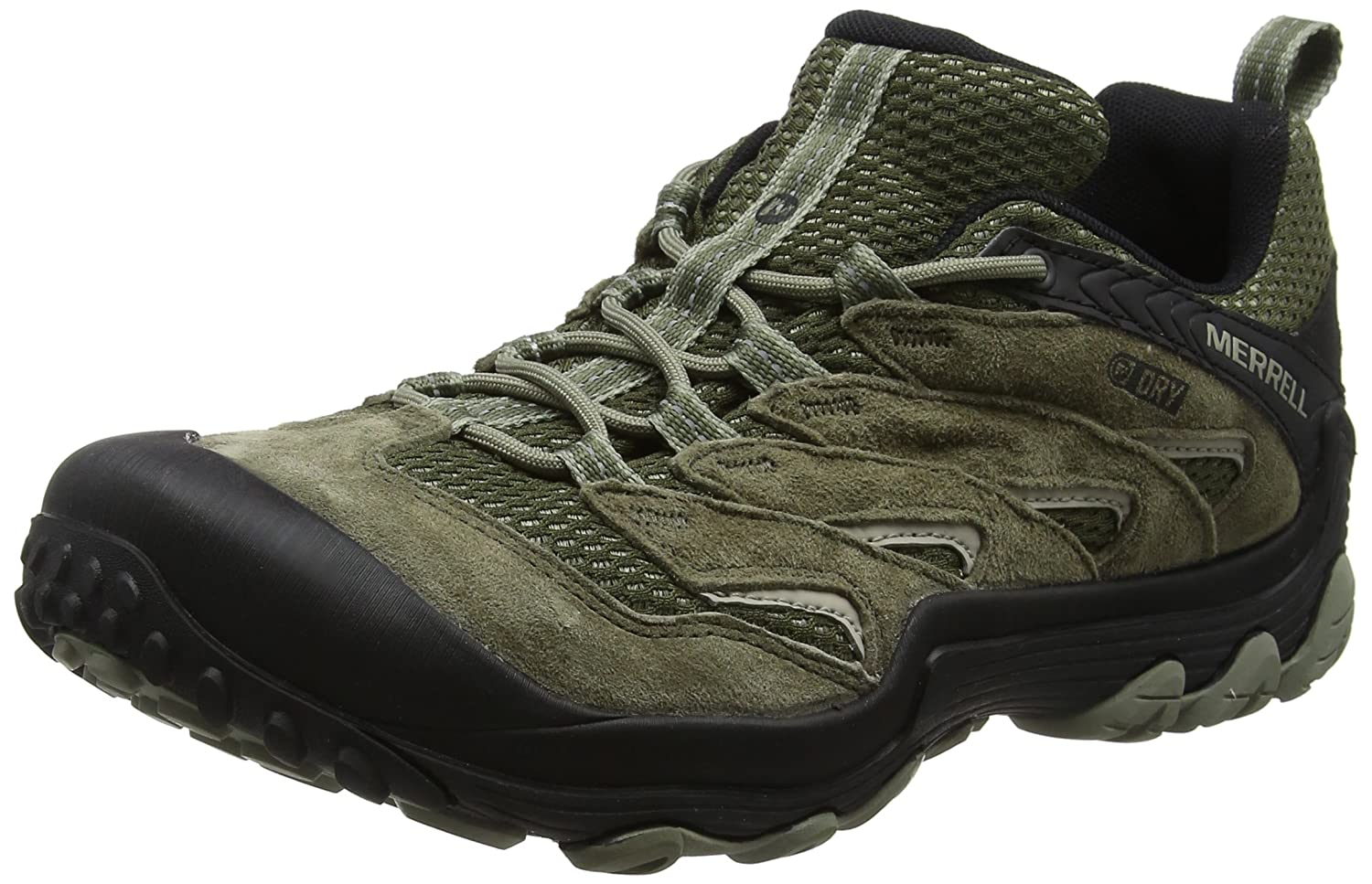 Merrell Women's Chameleon 7 Limit Waterproof Hiking Boot B071S8FYX9 10.5 M US|Dusty Olive