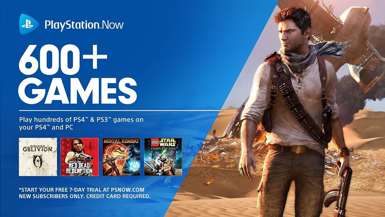 Amazon com: PlayStation Now: 1 Month Subscription [Digital