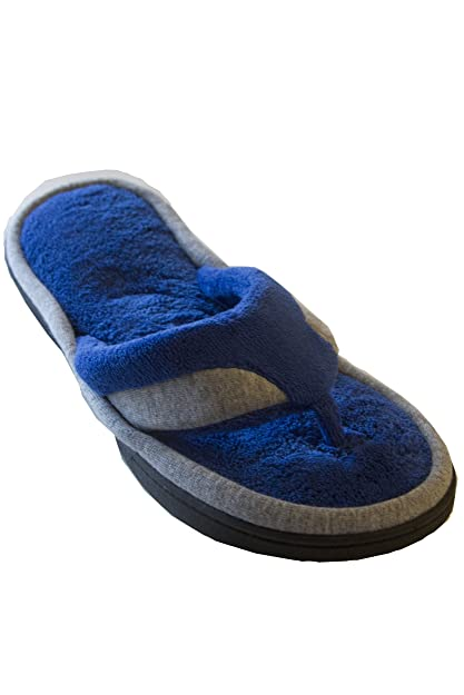 09342dec3e4 Isotoner Women s Microterry Jersey Michelle Thong Slipper