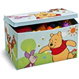Disney Winnie the Pooh Collapsible Fabric Toy Box (Blue)