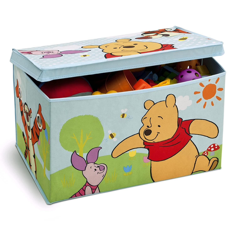 Disney Winnie the Pooh Fabric Toy Box Delta Children TB84987WP