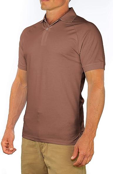 Men POLO Shirt Slim Fit Tees Short Sleeve Collared Custom Casual Tops Fashion