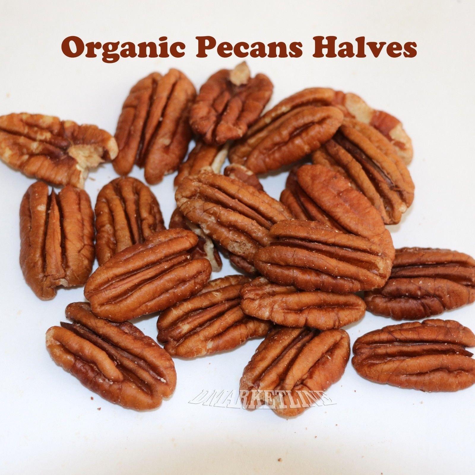 Organic Pecans Halves 3 lb