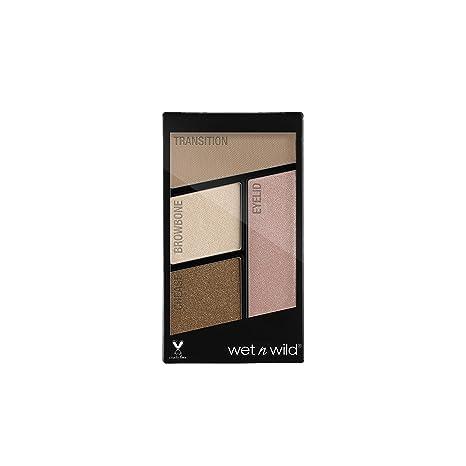 Buy Wet N Wild Color Icon Eyeshadow Quads Walking On Eggshell 4 5