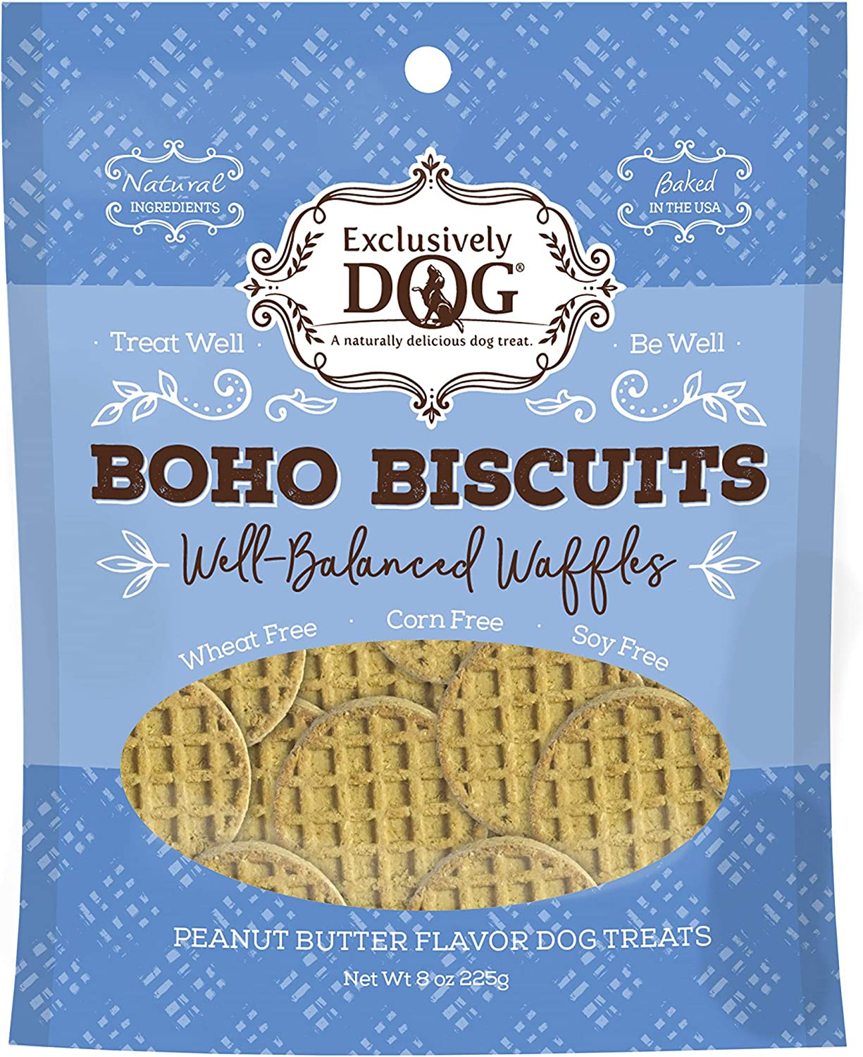 Exclusively Dog Boho Biscuits Wheat/Corn/Soy Free Dog Treats