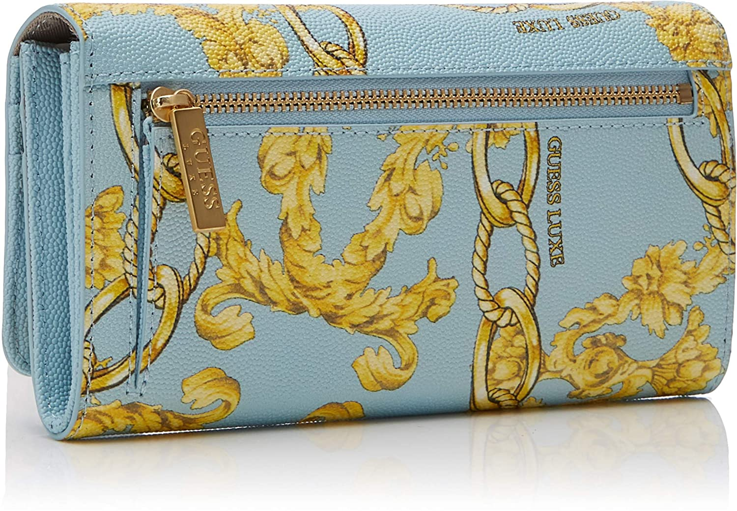 Guess - Belle Flap Organizer, Mujer, Multicolor (Sky Multi ...