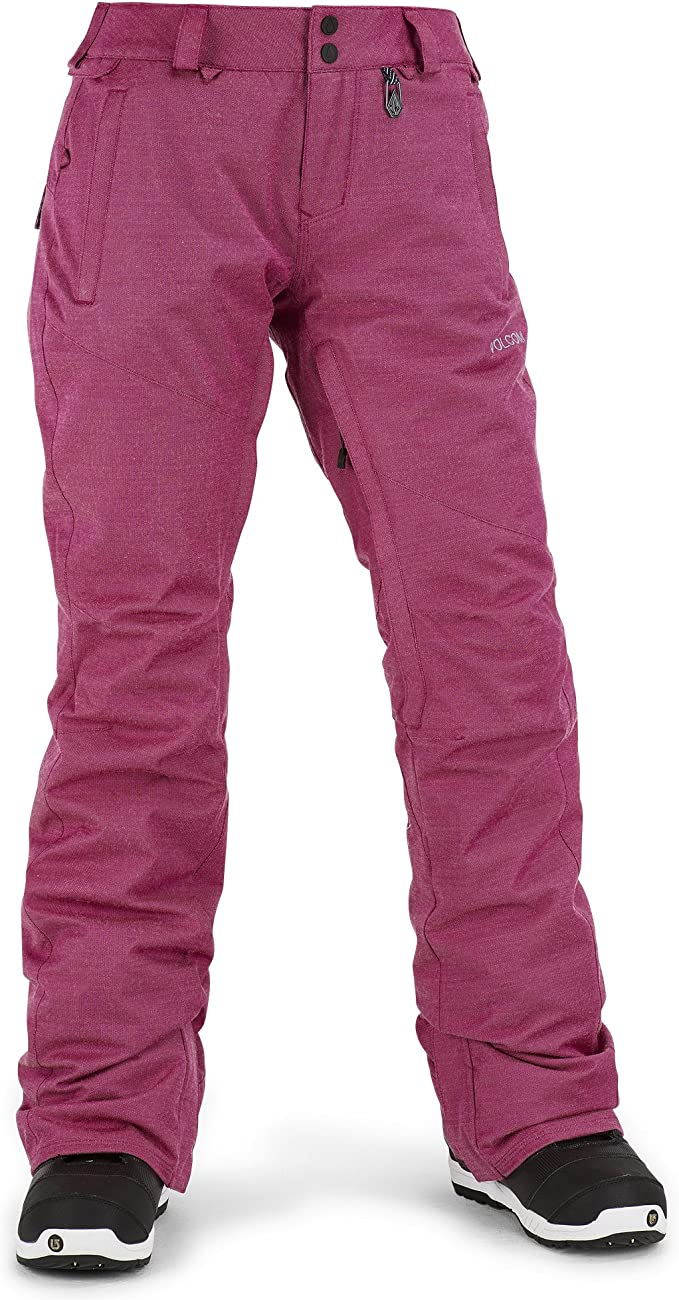 Volcom Juniors Transfer Modern Straight Fit Snow Pant