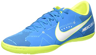 53aaabb4a4b Nike Mercurial Victory VI Men Neymar JR IC Indoor Soccer Shoes - Blue Size   10