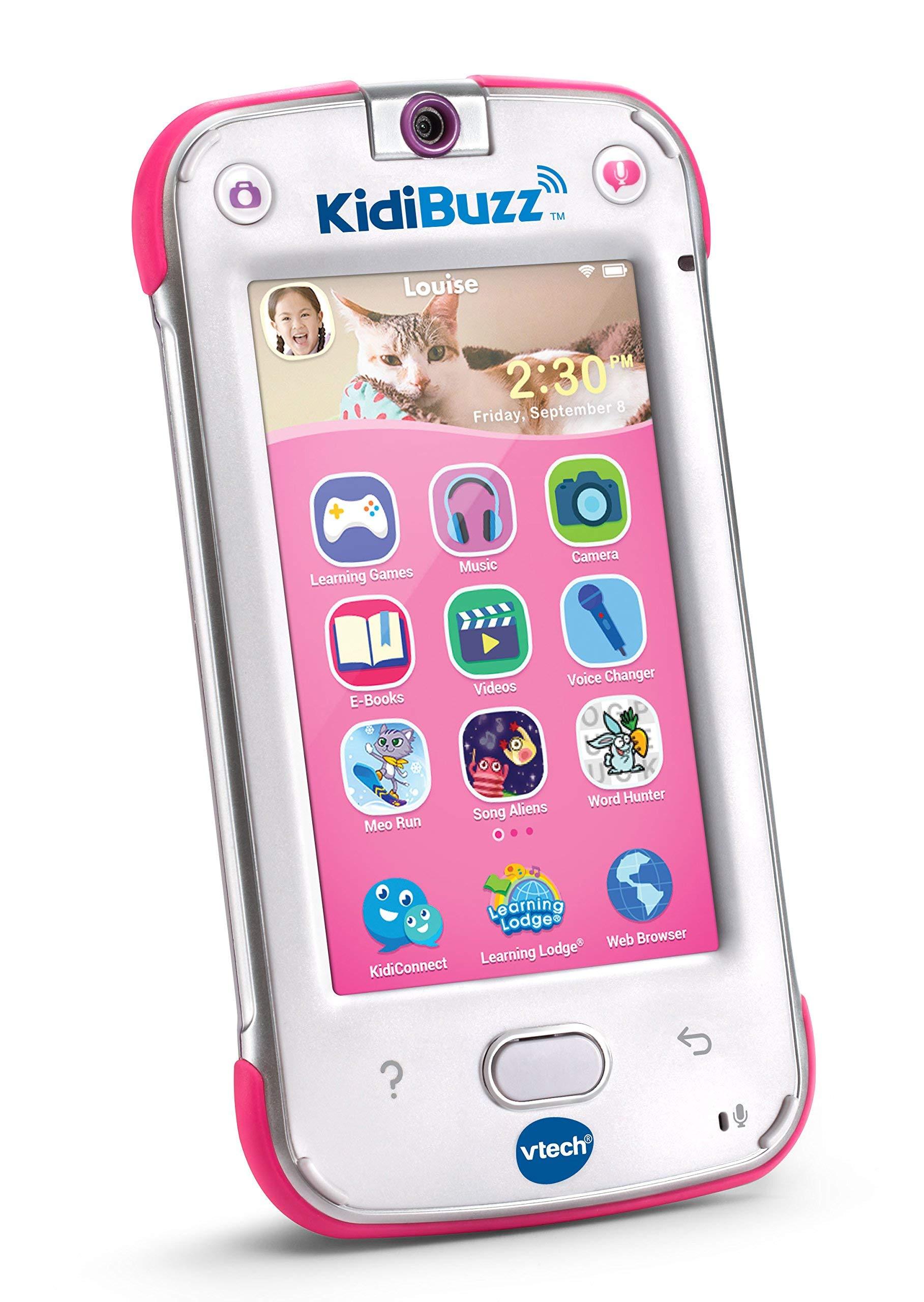 VTech KidiBuzz, Pink (Renewed) by VTech (Image #2)