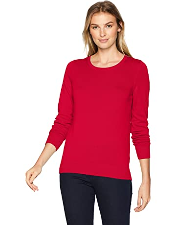 be4145b640dcf Amazon Essentials Women s Lightweight Crewneck Sweater