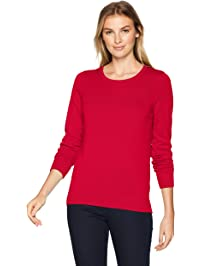 f47abce470 Amazon Essentials Women s Lightweight Crewneck Sweater