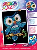 Sequin Art Owl Picture