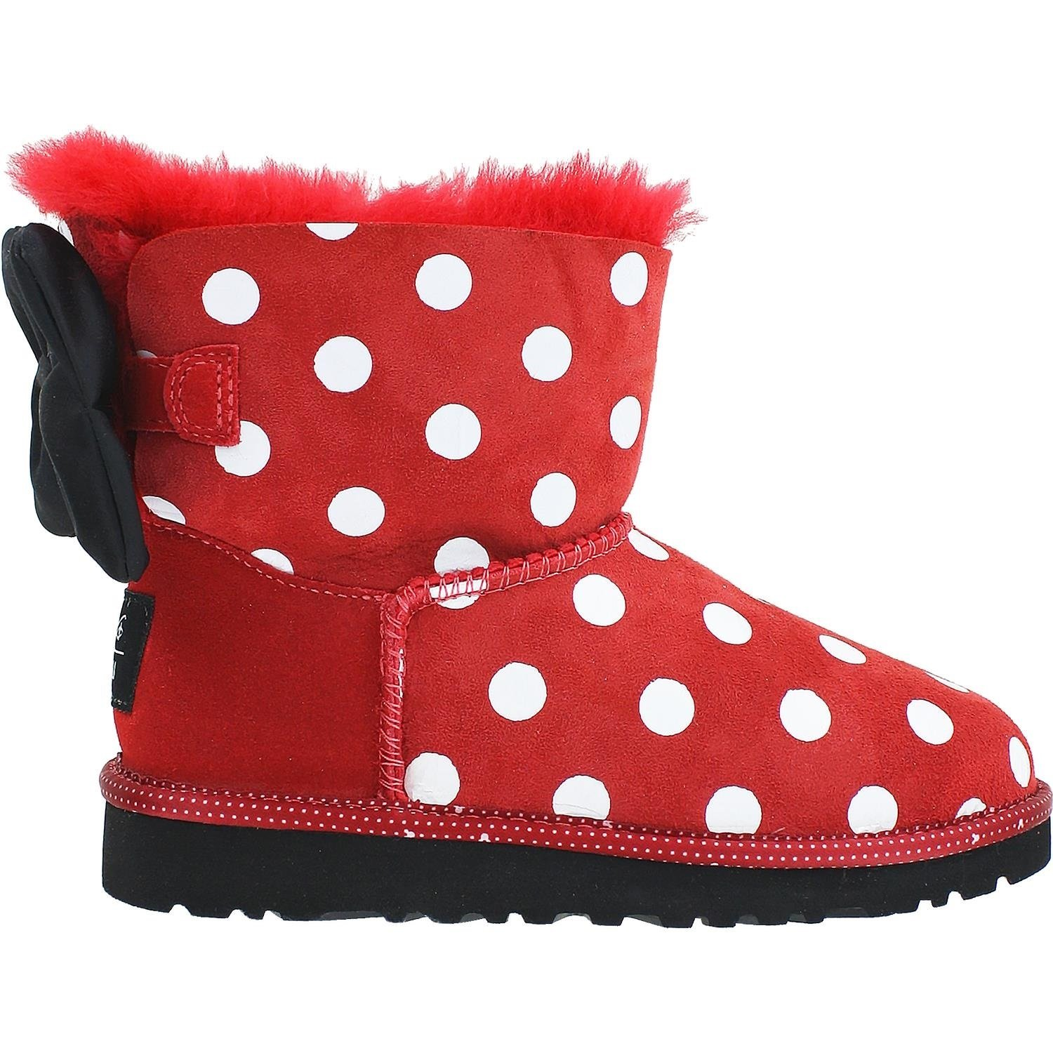 UGG Big Kids Sweetie Bow Boot Red Size 2 M US Little Kid