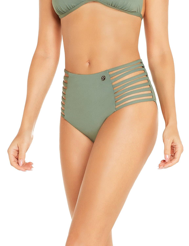 Sylvie Flirty Swimwear Women/'s Bianka Bikini Bottoms 10 Manufacturer size:... .
