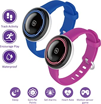 PAI Technology PaiBand Kids Activity Fitness Tracker w/Motion Sensor Game
