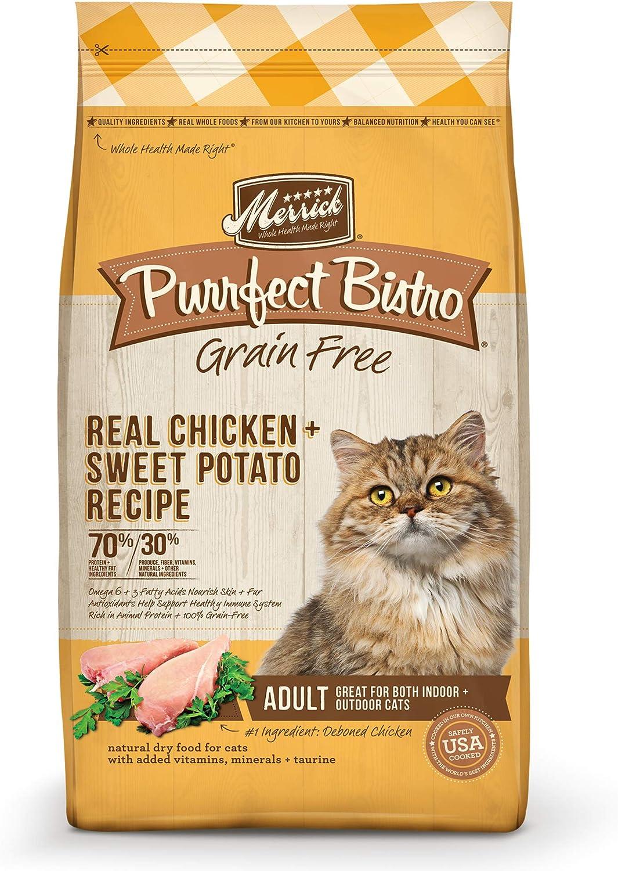 Merrick Purrfect Bistro Grain Free Dry Cat Food Chicken Recipe