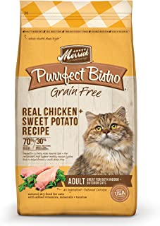 product image for Merrick Purrfect Bistro Grain Free Real Chicken Adult Dry Cat Food