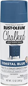 Rust-Oleum Series Rustoleum 302598 12OZ Coastal Blue Chalked Paint Spray,
